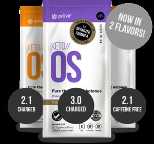 Keto-OS 3 Flavors
