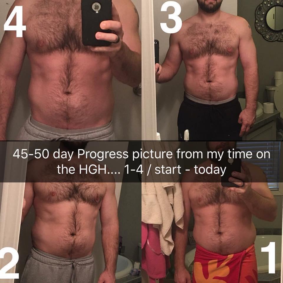 man 50 days on gel